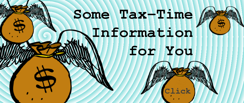 Some tax-time information for you