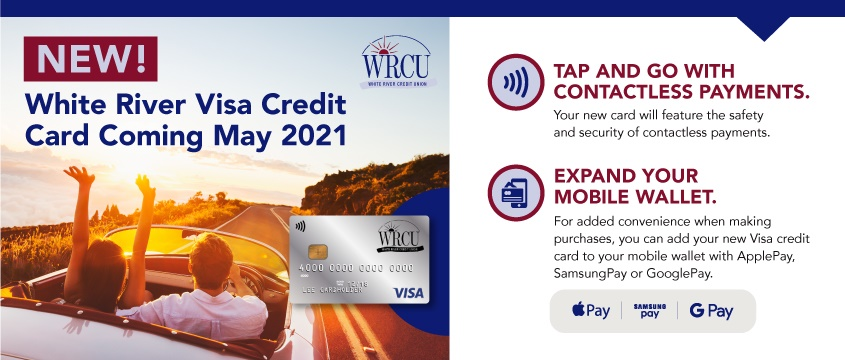 New White River Visa Credit Card coming May 2021